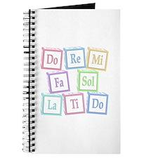 Solfege Baby Blocks Journal