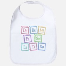 Solfege Baby Blocks Bib