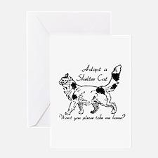 Take Me Home Cat Greeting Card