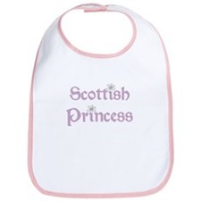 Scottish Princess Bib