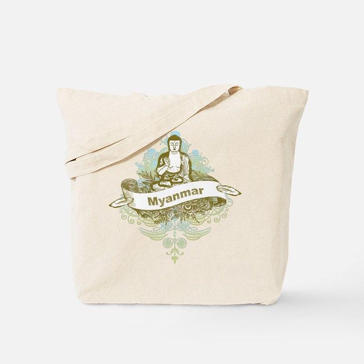 Buddha Myanmar Tote Bag