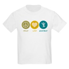 Peace Love Ghostbust T-Shirt