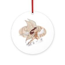 Brianna, faery art Ornament (Round)