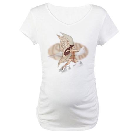 Brianna, faery art Maternity T-Shirt