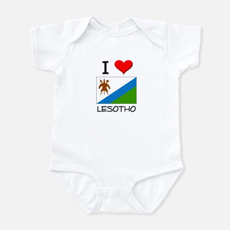 I Love Lesotho Infant Bodysuit