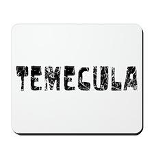 Temecula Faded (Black) Mousepad