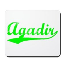 Vintage Agadir (Green) Mousepad