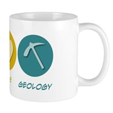 Peace Love Geology Mug