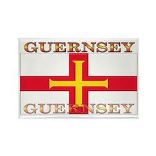 Guernsey Flag Rectangle Magnet (10 pack)