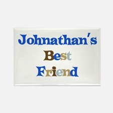 Johnathan's Best Friend Rectangle Magnet