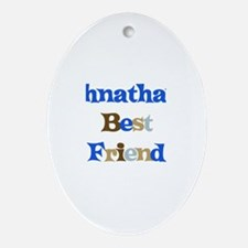 Johnathan's Best Friend Oval Ornament