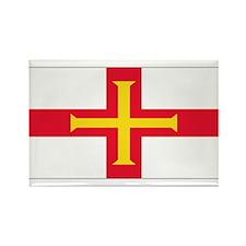 Guernsey Blank Flag Rectangle Magnet (10 pack)