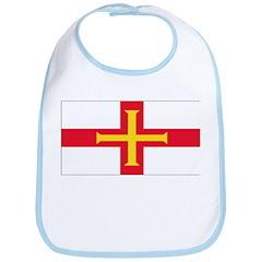 Guernsey Blank Flag Bib