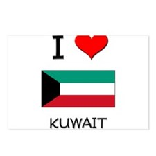 I Love Kuwait Postcards (Package of 8)