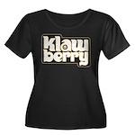 KlawBerry Logo Women's Plus Size Scoop Neck Dark T