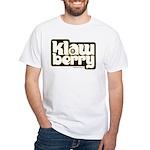 KlawBerry Logo White T-Shirt