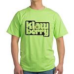 KlawBerry Logo Green T-Shirt