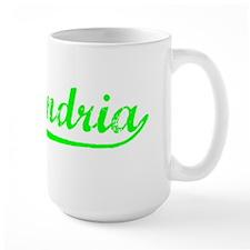 Vintage Alexandria (Green) Mug