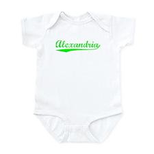 Vintage Alexandria (Green) Infant Bodysuit
