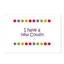 I have a new Cousin Postcards (Package of 8)
