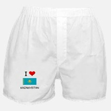 I Love Kazakhstan Boxer Shorts