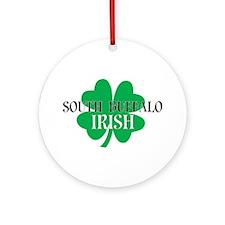 South Buffalo Irish Ornament (Round)