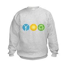 Wind, Solar, Recycle Sweatshirt