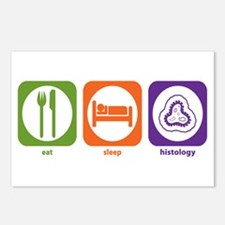 Eat Sleep Histology Postcards (Package of 8)