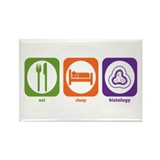 Eat Sleep Histology Rectangle Magnet (10 pack)