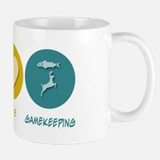 Peace Love Gamekeeping Mug