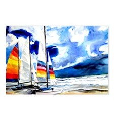 Catamarans Postcards (Package of 8)