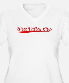 Vintage West Valle.. (Red) T-Shirt