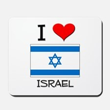 I Love Israel Mousepad