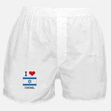 I Love Israel Boxer Shorts