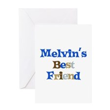Melvin's Best Friend Greeting Card
