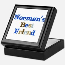 Norman's Best Friend Keepsake Box