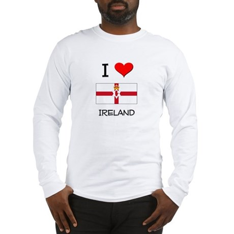 I Love Ireland Long Sleeve T-Shirt