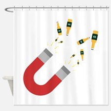 Like a Beer Magnet Cbe72 Shower Curtain