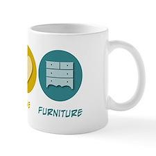 Peace Love Furniture Mug