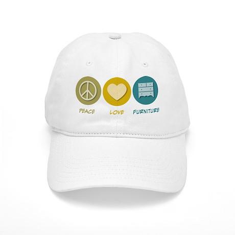 Peace Love Furniture Cap