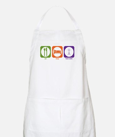 Eat Sleep Ham Radio BBQ Apron