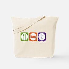 Eat Sleep Ham Radio Tote Bag