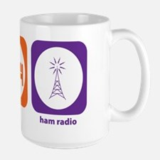 Eat Sleep Ham Radio Large Mug
