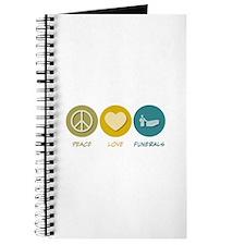 Peace Love Funerals Journal