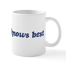 Annabella knows best Mug