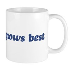 Miranda knows best Mug