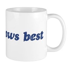 Andy knows best Mug