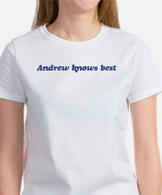 Andrew knows best Tee