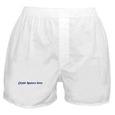 Clyde knows best Boxer Shorts
