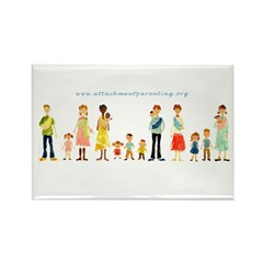 API Family Rectangle Magnets (100 Pack)
